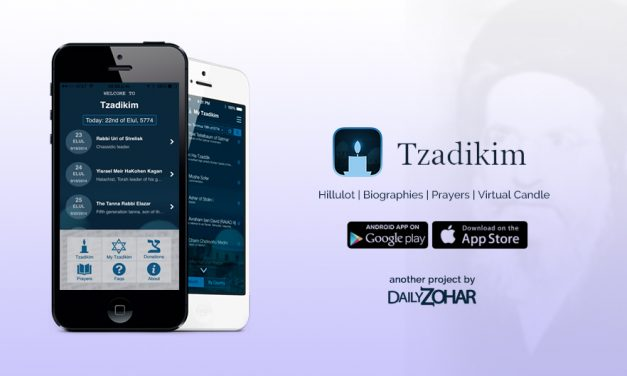 Tzadikim the best App