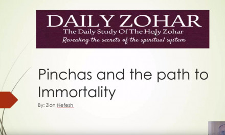 Pinchas and the path to immortality
