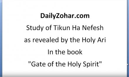 Tikun Hanefesh – explained